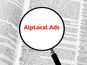AlpLocal Pas Shops Mobile Ads